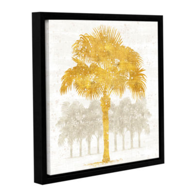 Brushstone Palm Coast V Gallery Wrapped Floater-Framed Canvas Wall Art