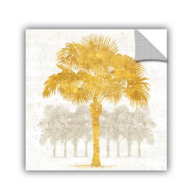 Brushstone Palm Coast V Removable Wall Decal
