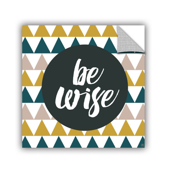 Brushstone Be Wise Removable Wall Decal