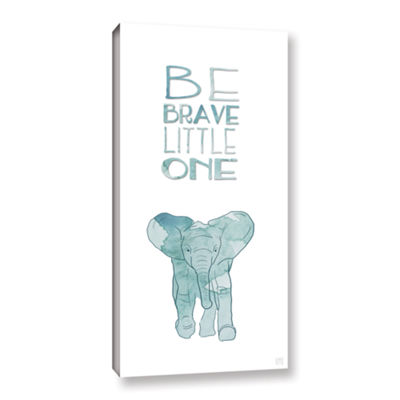Brushstone Brave Little One Gallery Wrapped Canvas