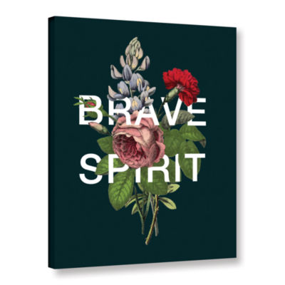 Brushstone Brave Spirit Gallery Wrapped Canvas