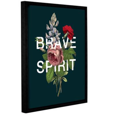 Brushstone Brave Spirit Gallery Wrapped Floater-Framed Canvas