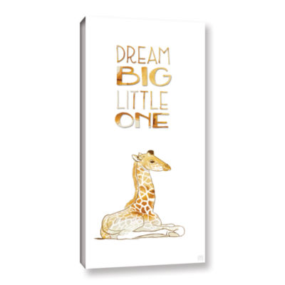 Brushstone Dream Little One Gallery Wrapped Canvas