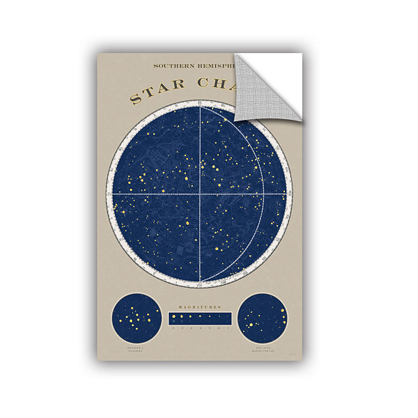 Brushstone SouThern Star Chart Removable Wall Decal