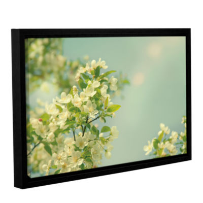 Brushstone Spring Beauty I Gallery Wrapped Floater-Framed Canvas Wall Art