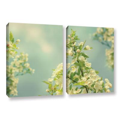 Brushstone Spring Beauty II 2-pc. Gallery WrappedCanvas Wall Art