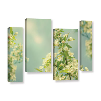 Brushstone Spring Beauty II 4-pc. Gallery WrappedStaggered Canvas Wall Art