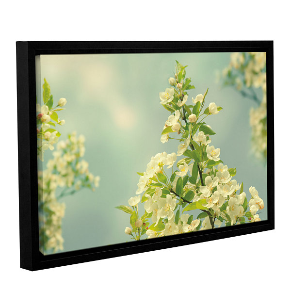 Brushstone Spring Beauty II Gallery Wrapped Floater-Framed Canvas Wall Art