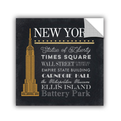 Brushstone NYC Empire State Building Removable Wall Decal