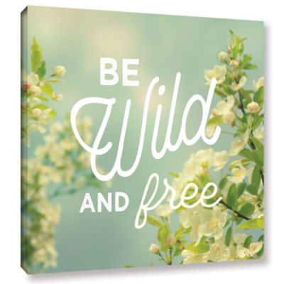 Brushstone Spring Beauty II Square Gallery WrappedCanvas Wall Art