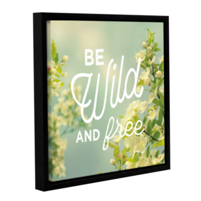 Brushstone Spring Beauty II Square Gallery WrappedFloater-Framed Canvas Wall Art