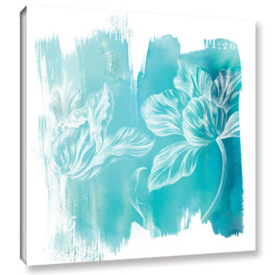 Brushstone Water Wash II Gallery Wrapped Canvas Wall Art