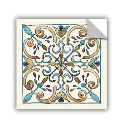 Brushstone Coastal Breeze Tile I Removable Wall Decal
