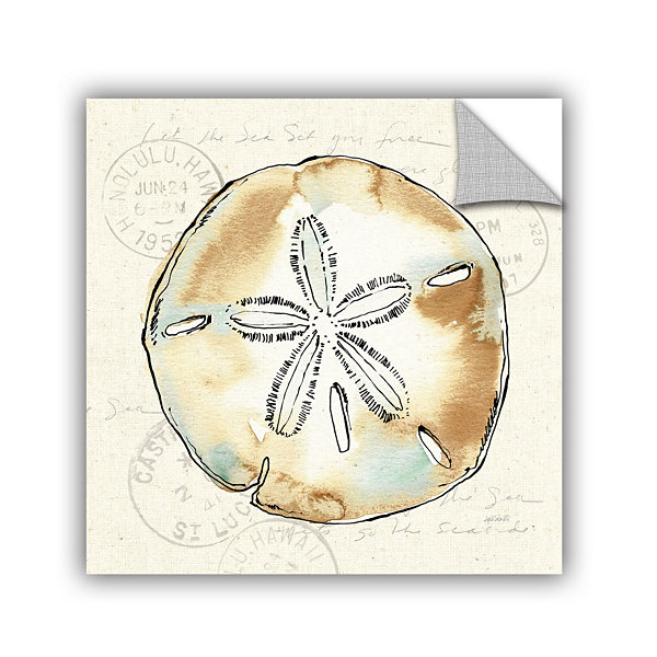 Brushstone Coastal Breeze VI Removable Wall Decal