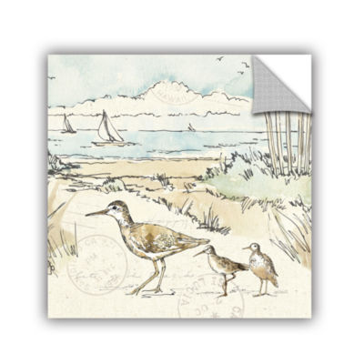 Brushstone Coastal Breeze XII Removable Wall Decal