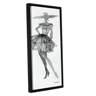 Brushstone Fashion Sketchbook V Gallery Wrapped Floater-Framed Canvas Wall Art