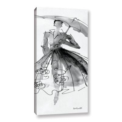 Brushstone Fashion Sketchbook VI Gallery Wrapped Canvas Wall Art
