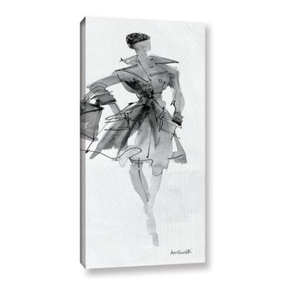 Brushstone Fashion Sketchbook VII Gallery WrappedCanvas Wall Art