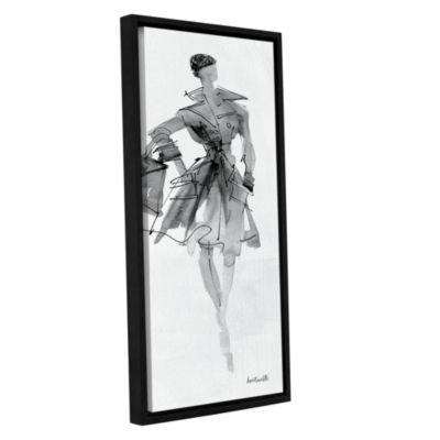 Brushstone Fashion Sketchbook VII Gallery WrappedFloater-Framed Canvas Wall Art