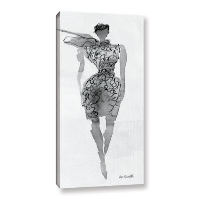Brushstone Fashion Sketchbook VIII Gallery WrappedCanvas Wall Art