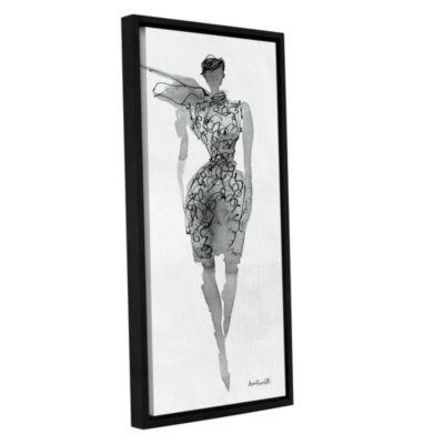 Brushstone Fashion Sketchbook VIII Gallery WrappedFloater-Framed Canvas Wall Art