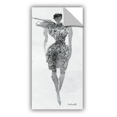 Brushstone Fashion Sketchbook VIII Removable WallDecal