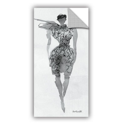 Brushstone Fashion Sketchbook VIII Removable WallDecal