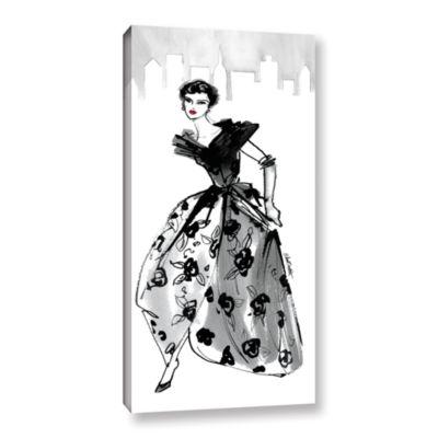 Brushstone Fifties Fashion II Gallery Wrapped Canvas Wall Art