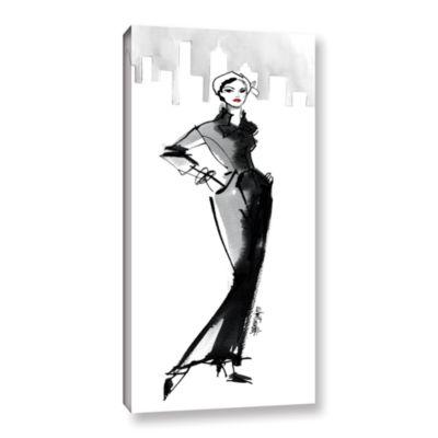 Brushstone Fifties Fashion III Gallery Wrapped Canvas Wall Art