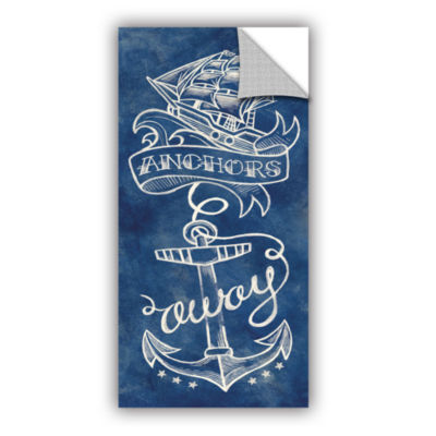Brushstone Anchors Away Removable Wall Decal