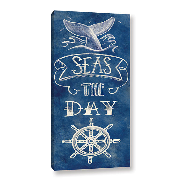 Brushstone Seas The Day Gallery Wrapped Canvas Wall Art