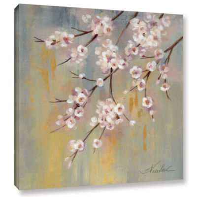 Brushstone Cherry Cloud I Gallery Wrapped Canvas Wall Art