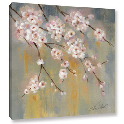 Brushstone Cherry Cloud II Gallery Wrapped CanvasWall Art