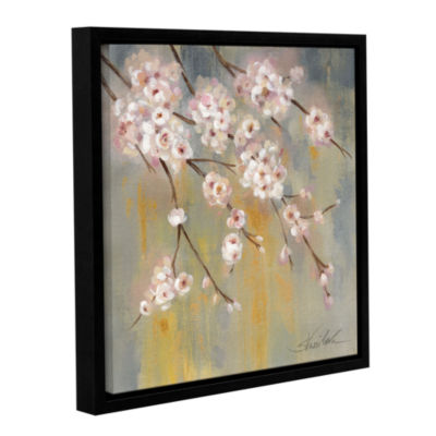 Brushstone Cherry Cloud II Gallery Wrapped Floater-Framed Canvas Wall Art