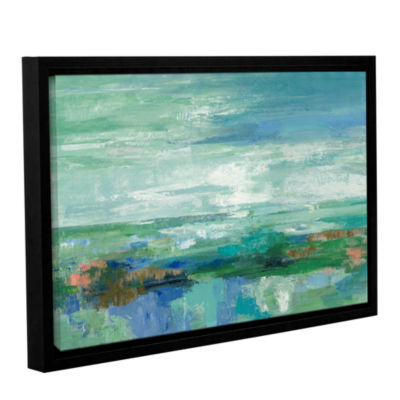 Brushstone Emerald Bay Gallery Wrapped Floater-Framed Canvas Wall Art