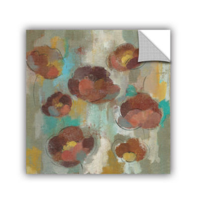 Brushstone Marsala Blossoms II Removable Wall Decal