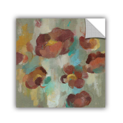 Brushstone Marsala Blossoms III Removable Wall Decal