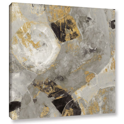 Brushstone Painted Desert Neutral Gallery WrappedCanvas Wall Art