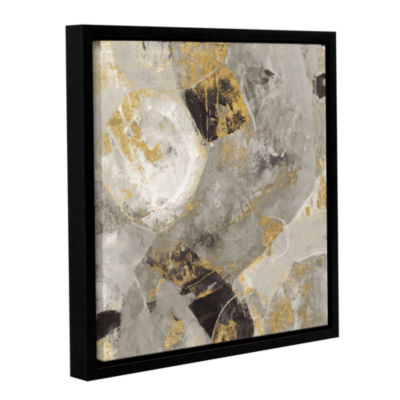 Brushstone Painted Desert Neutral Gallery WrappedFloater-Framed Canvas Wall Art