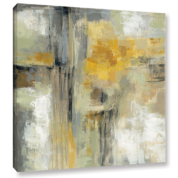 Brushstone Sun and Rain Gallery Wrapped Canvas Wall Art
