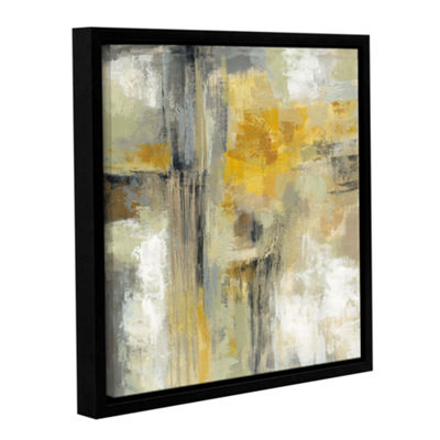 Brushstone Sun and Rain Gallery Wrapped Floater-Framed Canvas Wall Art