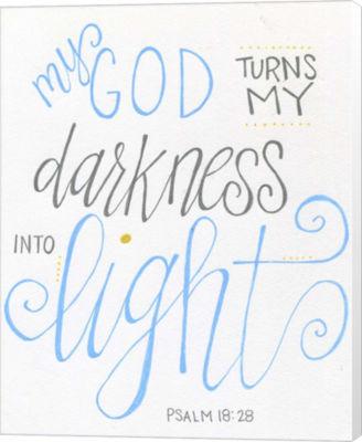 Metaverse Art Darkness to Light Canvas Wall Art