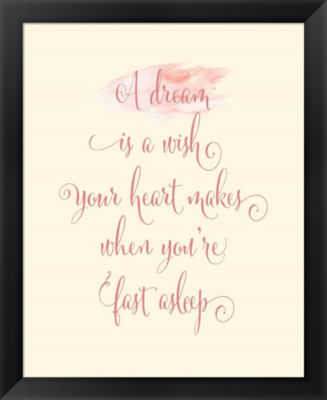 Metaverse Art A Dream is a Wish Framed Wall Art