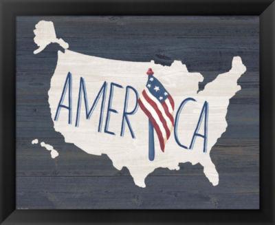 Metaverse Art America Framed Wall Art