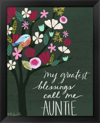 Metaverse Art Auntie Framed Wall Art