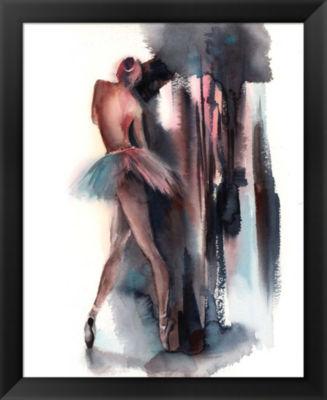 Metaverse Art Ballerina II Framed Wall Art