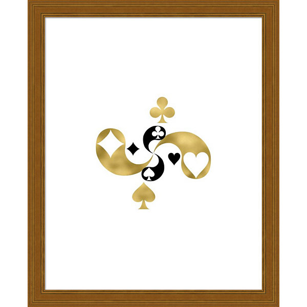 Metaverse Art Card Symbols Framed Wall Art