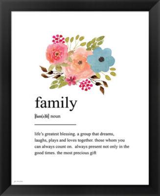 Metaverse Art Family Definition Framed Wall Art