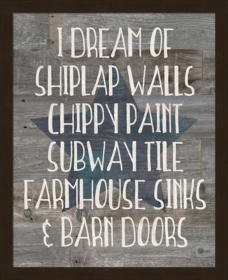 Metaverse Art Farmhouse Dreams Framed Wall Art