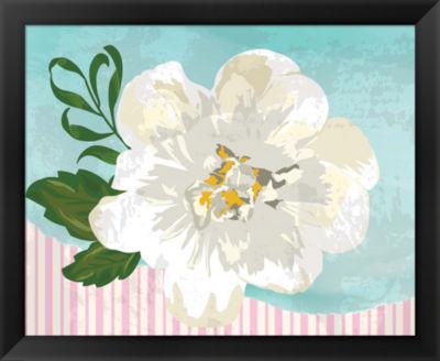 Metaverse Art Floral III Framed Wall Art